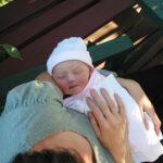 新生児から横抱きで使える抱っこ紐、コランハグ
