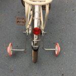 子ども自転車の補助輪の外し方→スタンドへの変え方<ママでも簡単!>
